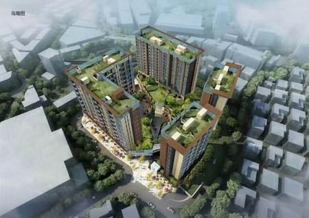 西乡固戍地铁<红禧公寓>不限购红本公寓不占名额  4栋花园小区