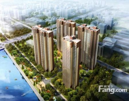 黄江大型统建楼《江域美地》4栋320户全封闭大型花园小区 户型使用率高达80%以上镇中心天虹商圈