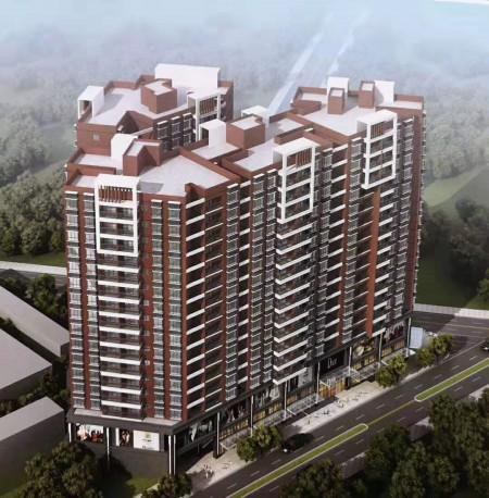 大朗4栋花园小区《松湖兰园》超大空中花园,地下停车位 万荟城沃尔玛商圈小产权房