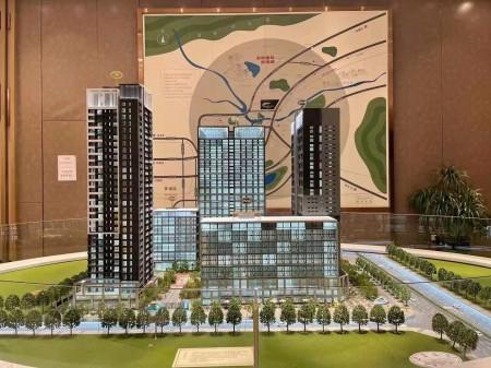 龙岗中心城《时代公馆》双地铁口5栋花园精装公寓 共300套房源 可分期10年