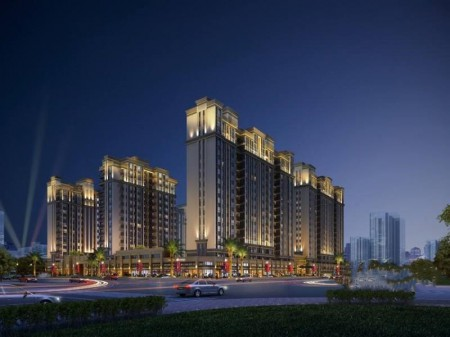 松湖智慧谷 (寮步中心城)寮步大型统建楼 6栋两层地下停车场的商住一体化的项目