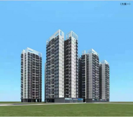 惠东百花镇统建楼《百丽新城》8栋花园小区 商住两用 800套现房  使用率高